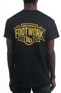Footwork Is A Must Tee -Black/Yellow Gold