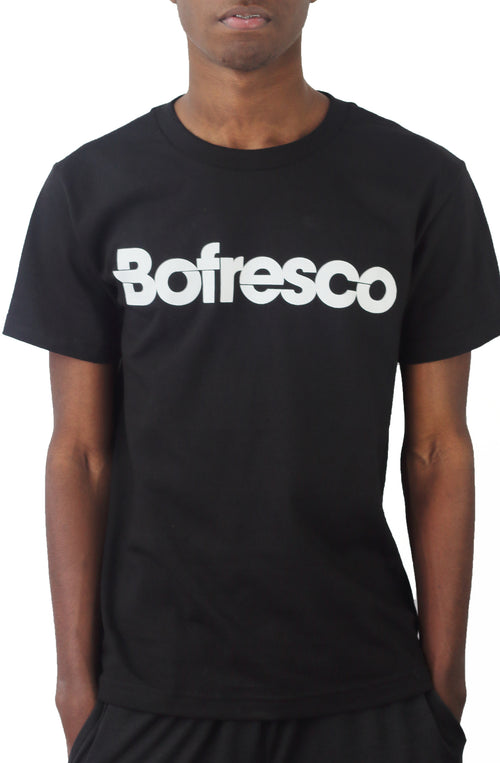 Bofresco Classic Logo Tee - Black - Bofresco