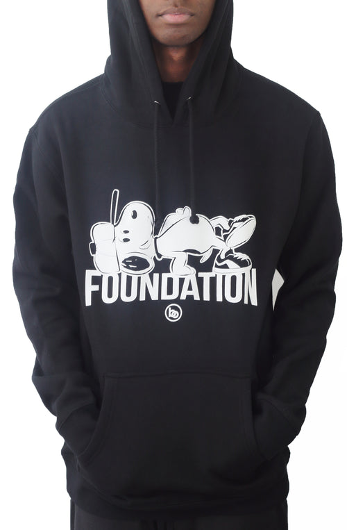 Bofresco Foundation Hoodie - Black - Bofresco