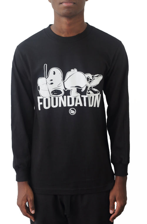 Bofresco Foundation LS Tee - Black - Bofresco