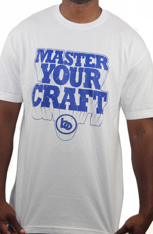 Master Your Craft T-Shirt White - Bofresco