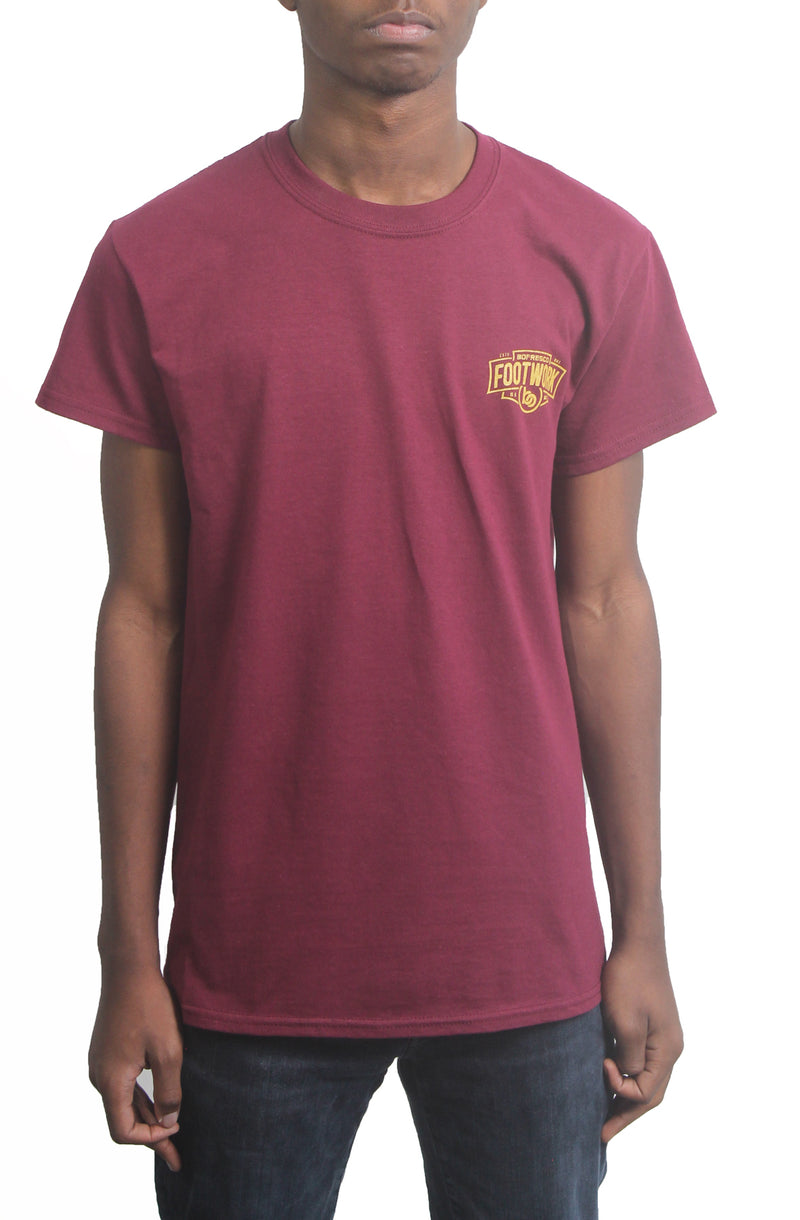 Respect is Hard to Earn T-Shirt - Burgundy