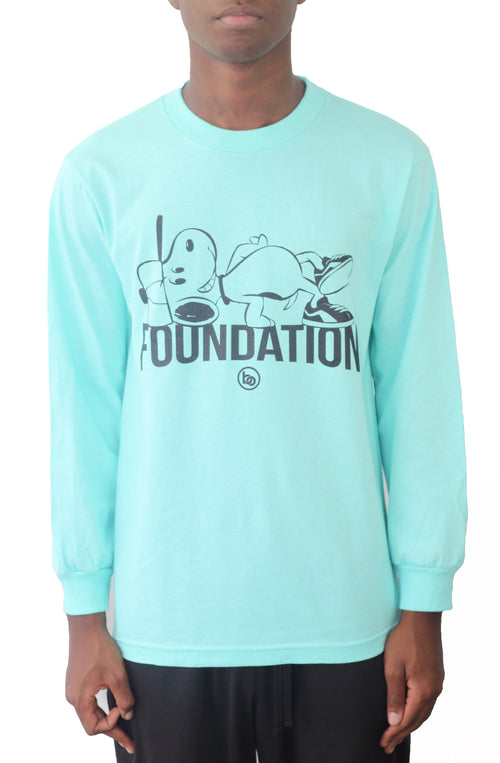 Bofresco Foundation LS Tee - Celadon - Bofresco