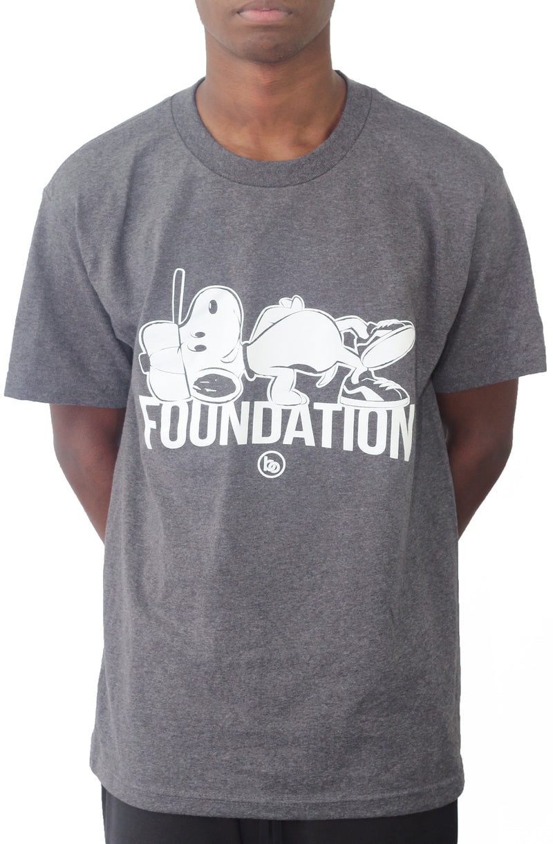 Bofresco Foundation  Tee - Charcoal - Bofresco