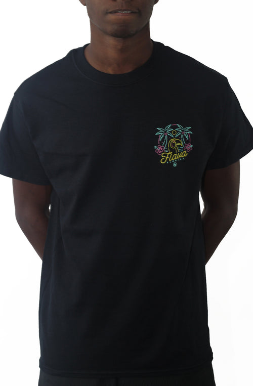 Bofresco Flava Florida Tee - Black - Bofresco