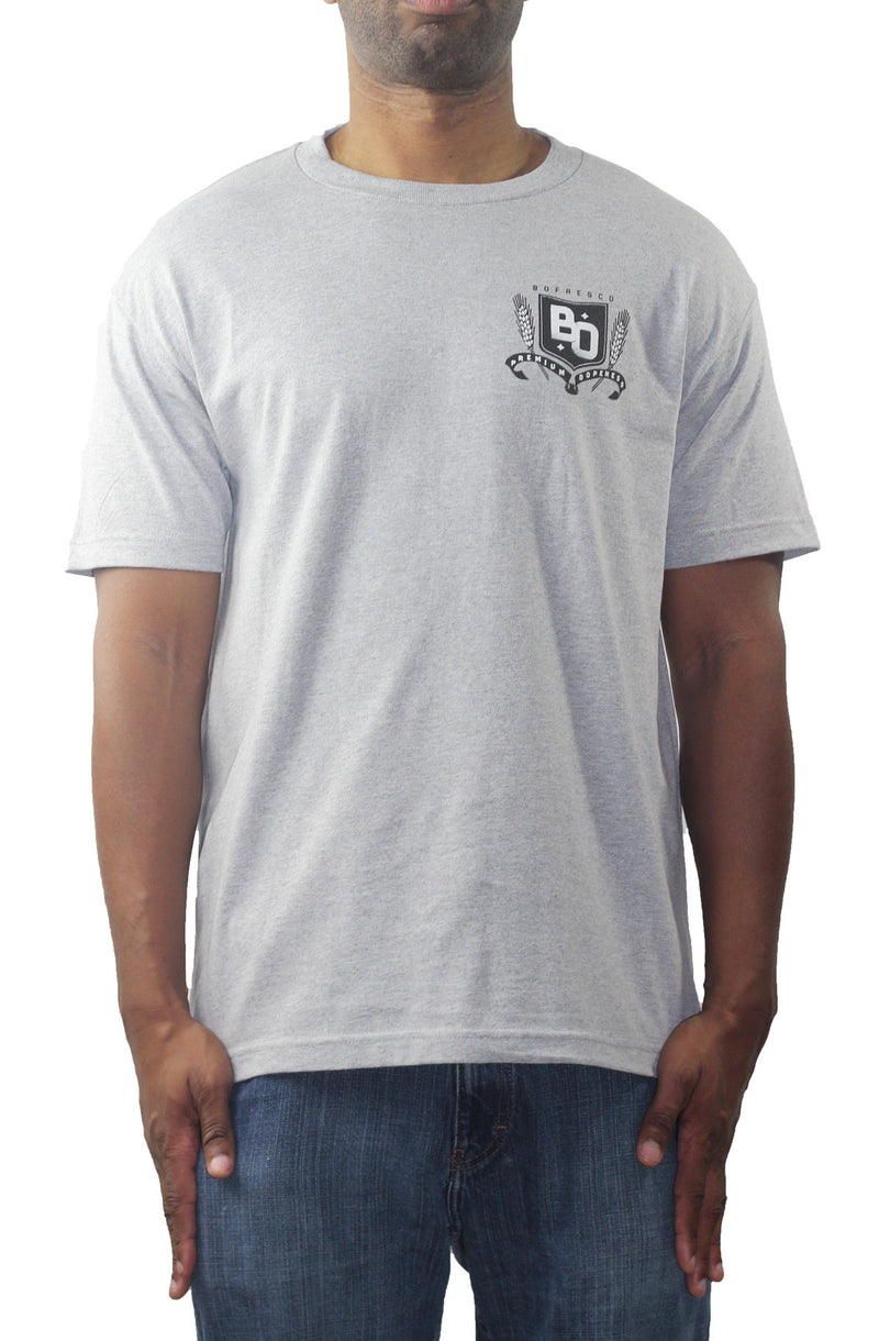 Bofresco Premium Dopeness T-Shirt Heather Grey - Bofresco