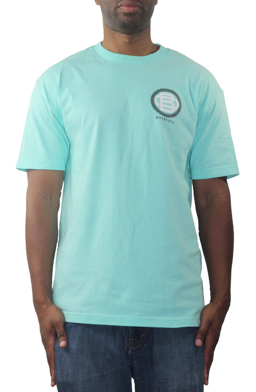 Bofresco Monogram T-Shirt Celadon