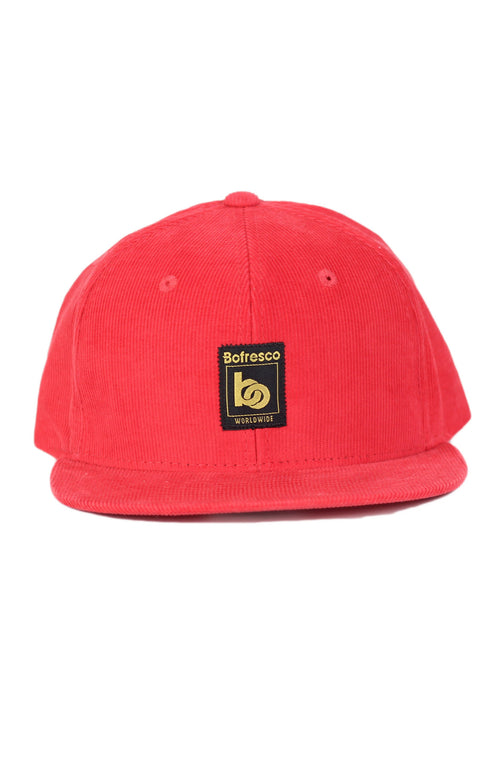 Bofresco Worlwide Corduroy Snapback - Bofresco