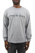 Respect is Hard to Earn Long Sleeve - Heather Grey