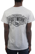 Footwork Is A Must Tee -Sports Grey - Bofresco