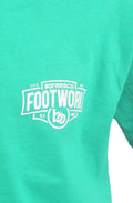 Footwork Is A Must Tee -Kelly Green - Bofresco