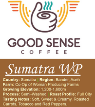 Sumatra - Organic - Fair Trade - Women Coffee Producers