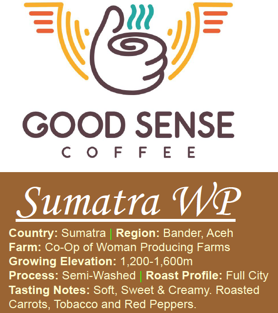 Sumatra - Organic & Fair Trade - Woman Producing Farm