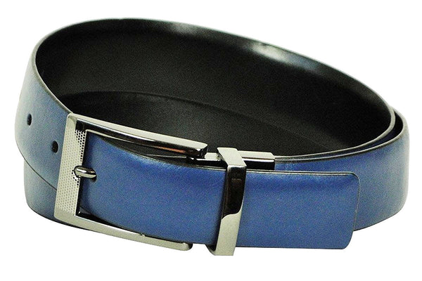 Alfani Mens Blue Dress Belt