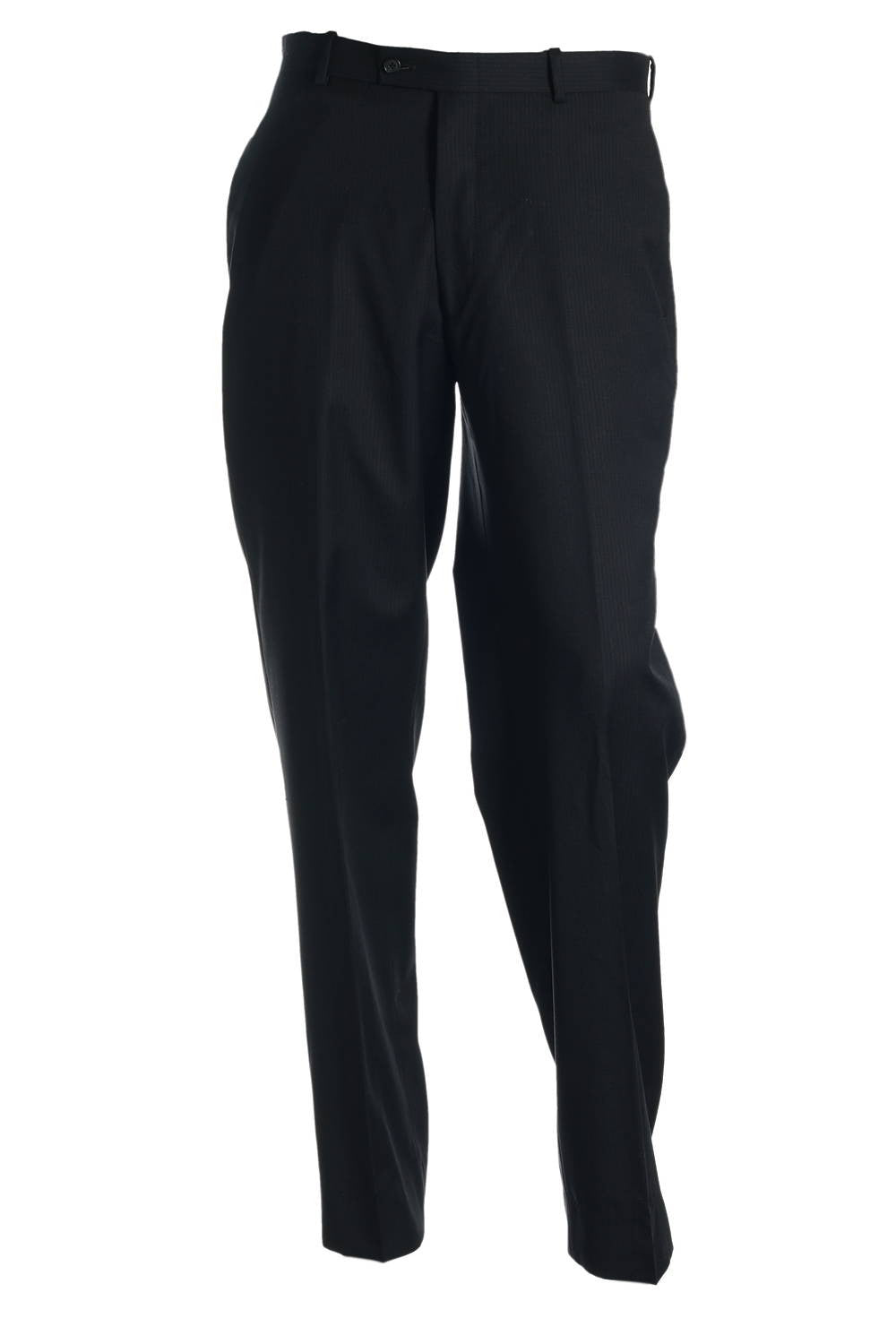 Alfani Mens Blue Pinstripe Flat Front Dress Pants