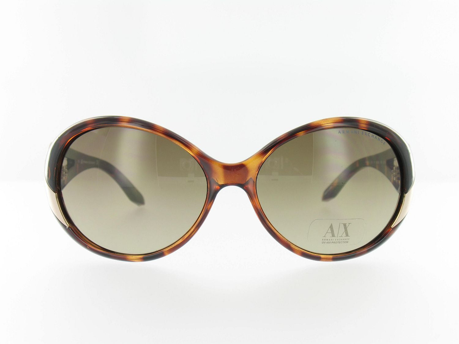 Armani Exchange Womens Brown Butterfly Sunglasses