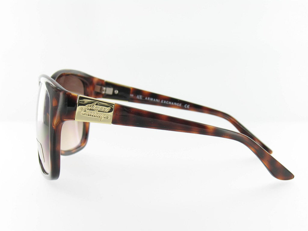 Armani Exchange Womens Brown Square Sunglasses