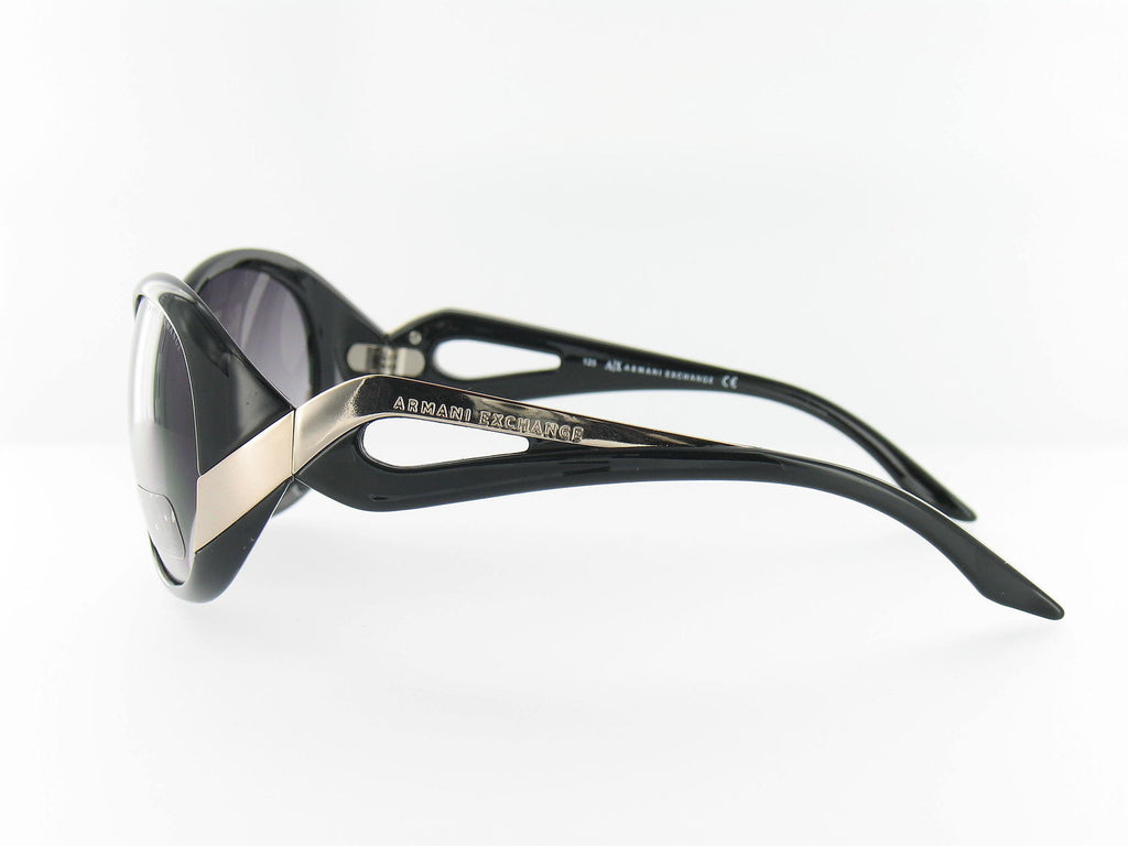 Armani Exchange Womens Black Butterfly Sunglasses