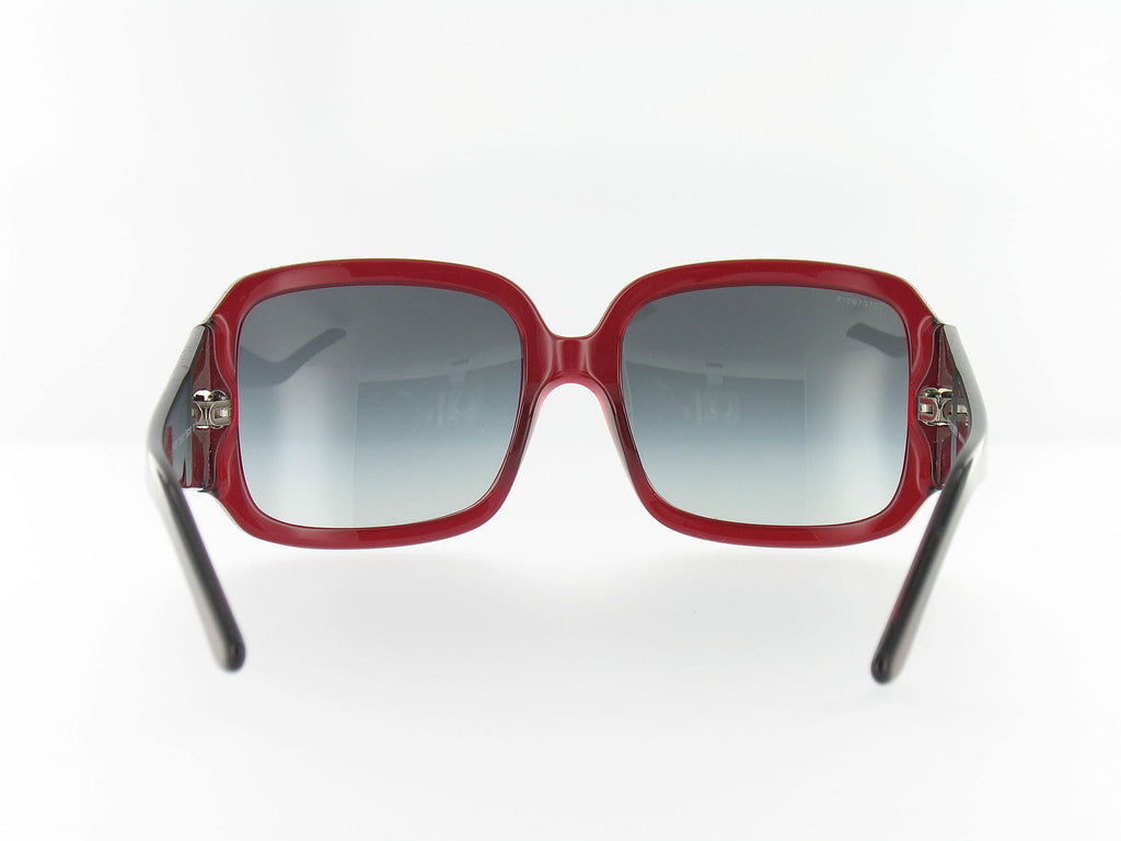 Burberry Womens Burgundy Square Sunglasses
