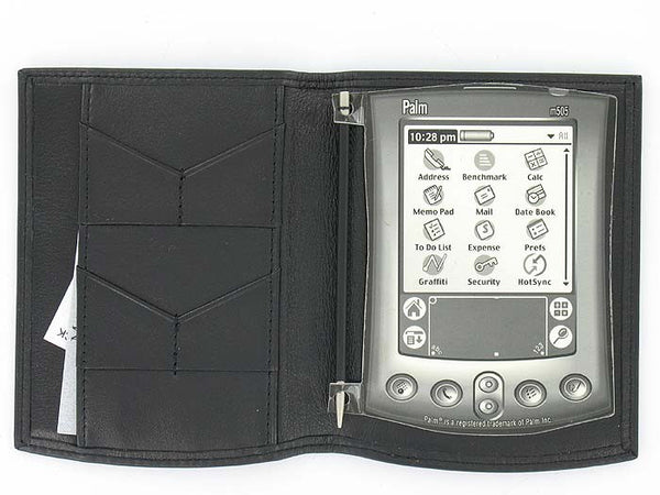 Tumi Mens Black PDA Case