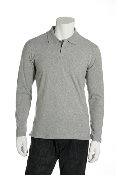Alfani Mens Gray Polo Shirt