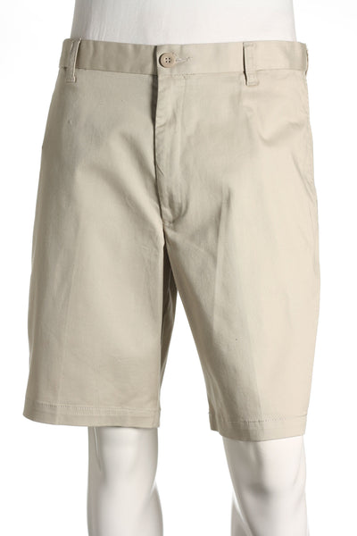 Dockers Mens Beige Pleated Walking Shorts