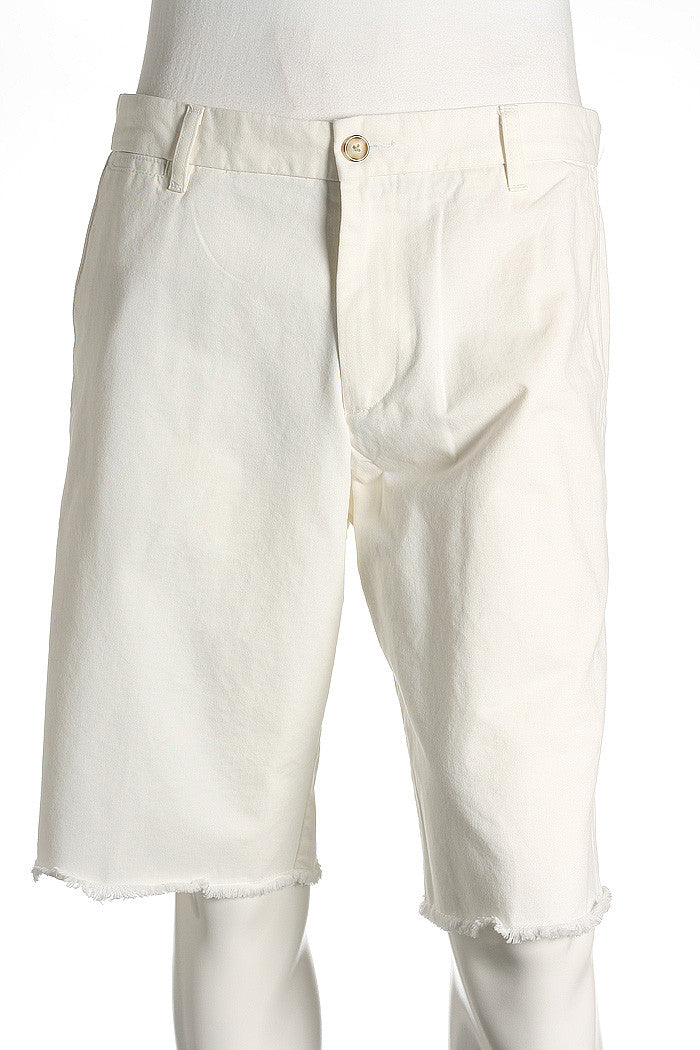 Dockers Mens White Flat Front Walking Shorts