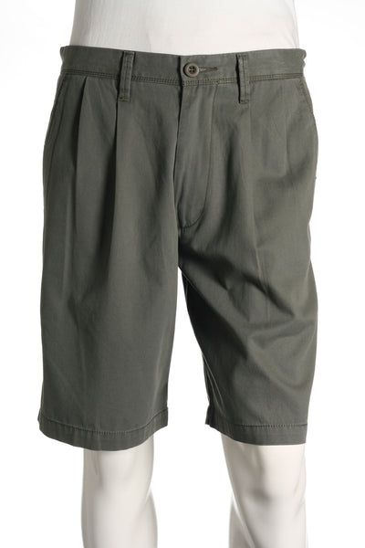 Dockers Mens Gray Pleated Walking Shorts