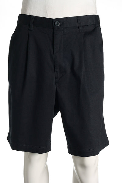 Dockers Mens Blue Pleated Walking Shorts