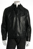 Buffalo by David Bitton Mens Black Leather Jacket