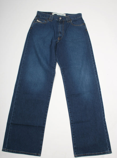 Diesel 'Snakex 850' Mens Blue Relaxed Fit Jeans