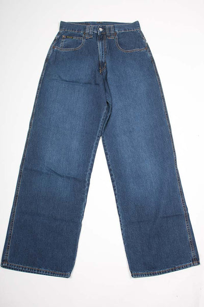 Diesel Mens Blue Relaxed Fit Jeans