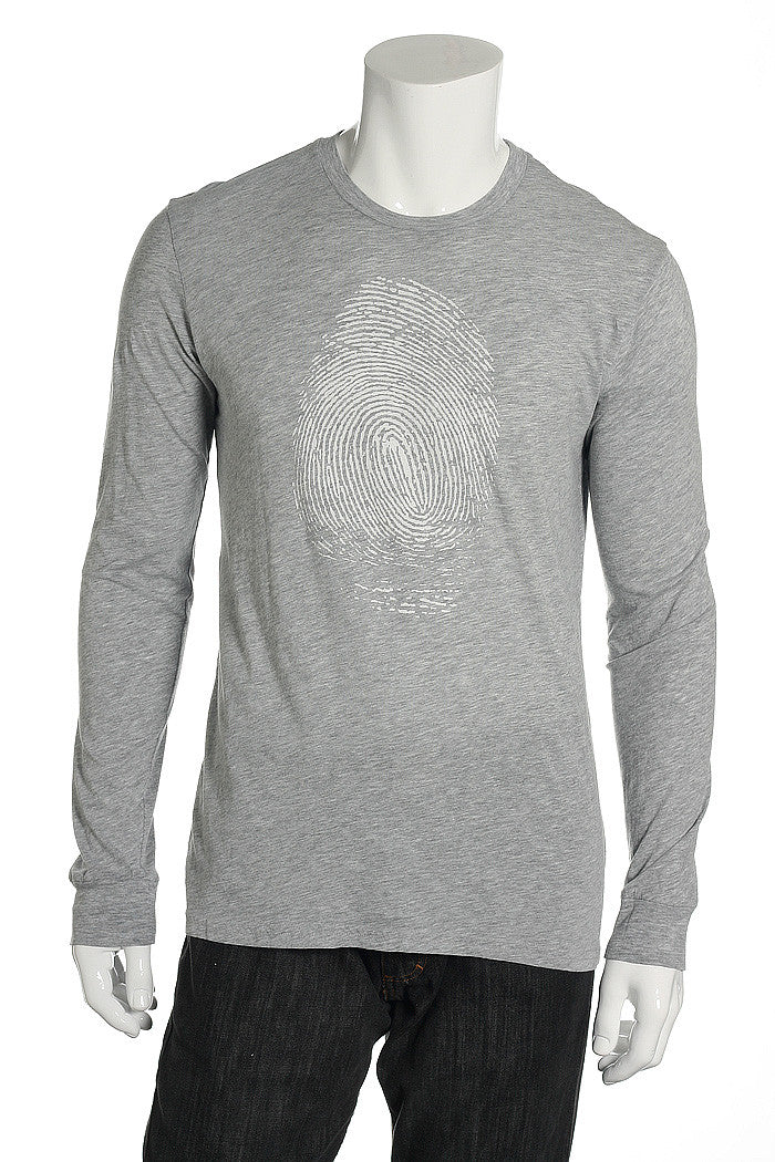 Levi's Mens Gray Graphic T-Shirt