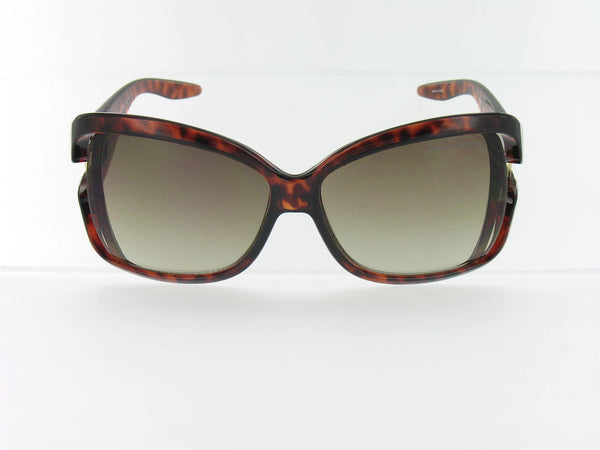 Armani Exchange Unisex Brown Rectangle Sunglasses