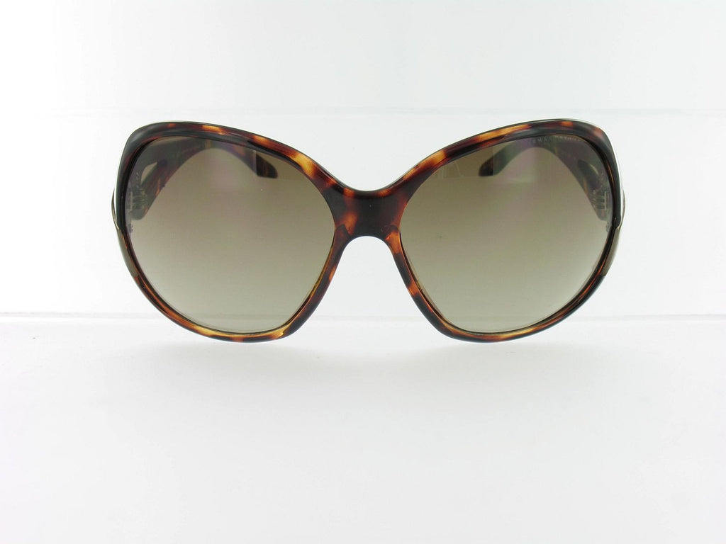 Armani Exchange Womens Brown Round Sunglasses