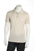Adidas Golf Mens Beige Polo Shirt