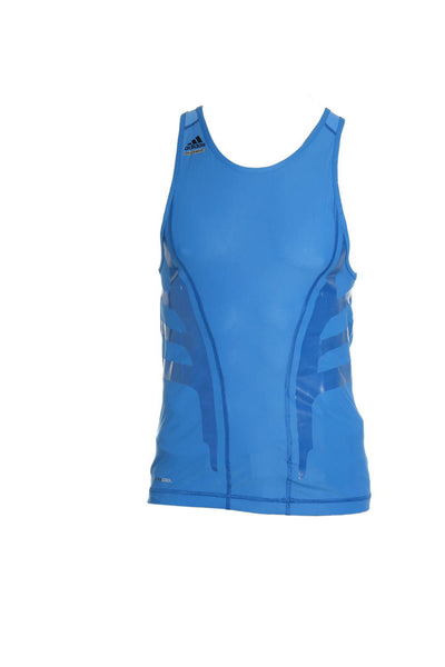Adidas Mens Blue Tank Top