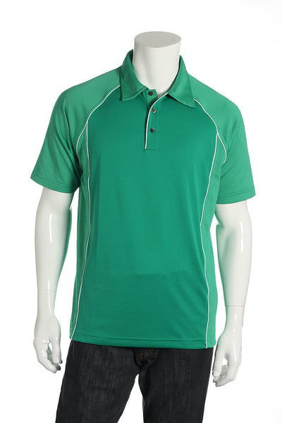 Adidas Mens Green Polo Shirt