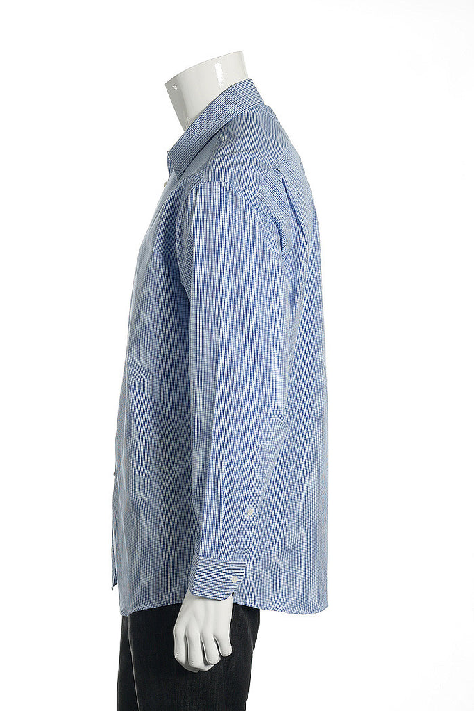 Ben Sherman Mens Blue Button Down Shirt