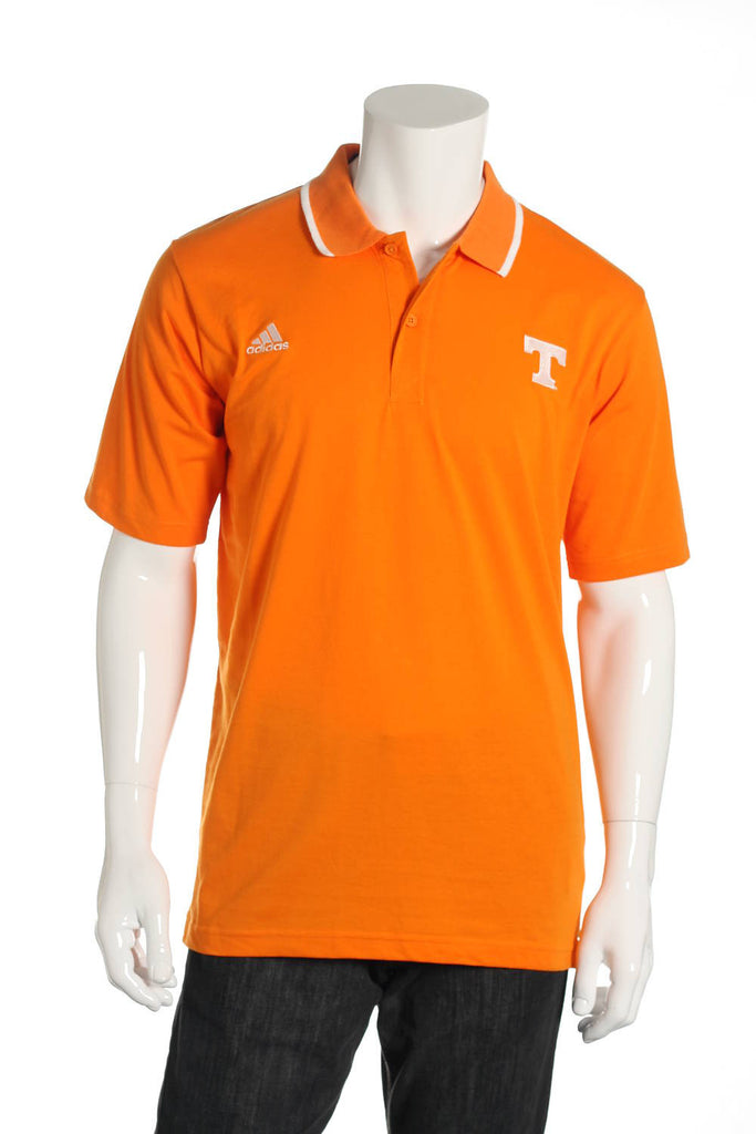 Adidas Mens Orange Polo Shirt