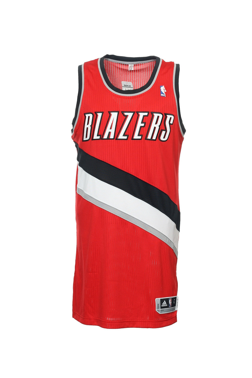 Adidas Mens Red NBA Portland Trail Blazers Jersey