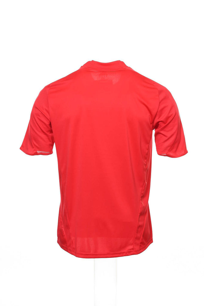 Adidas Mens Red French Football Federation Jersey