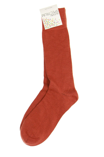 Alfani Spectrum Mens Orange Dress Socks