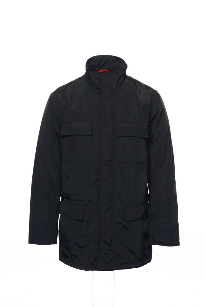 Alfani Red Mens Black Insulated Jacket
