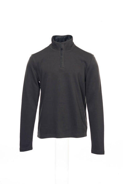 Alfani Red Mens Brown Half Zip Sweatshirt