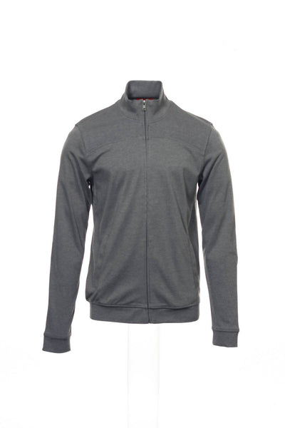 Alfani Red Mens Gray Heather Full Zip Sweatshirt