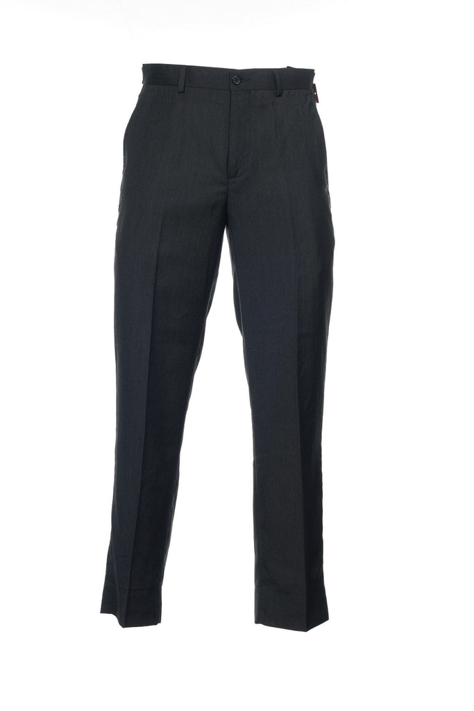 Alfani Red 'The Derek' Mens Gray Heather Flat Front Dress Pants