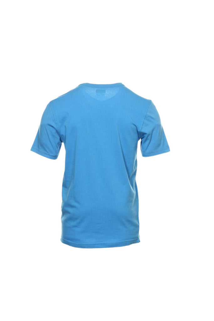 Alfani Red Mens Blue V-Neck T-Shirt