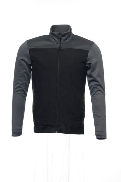 Alfani Red Mens Black Track Jacket