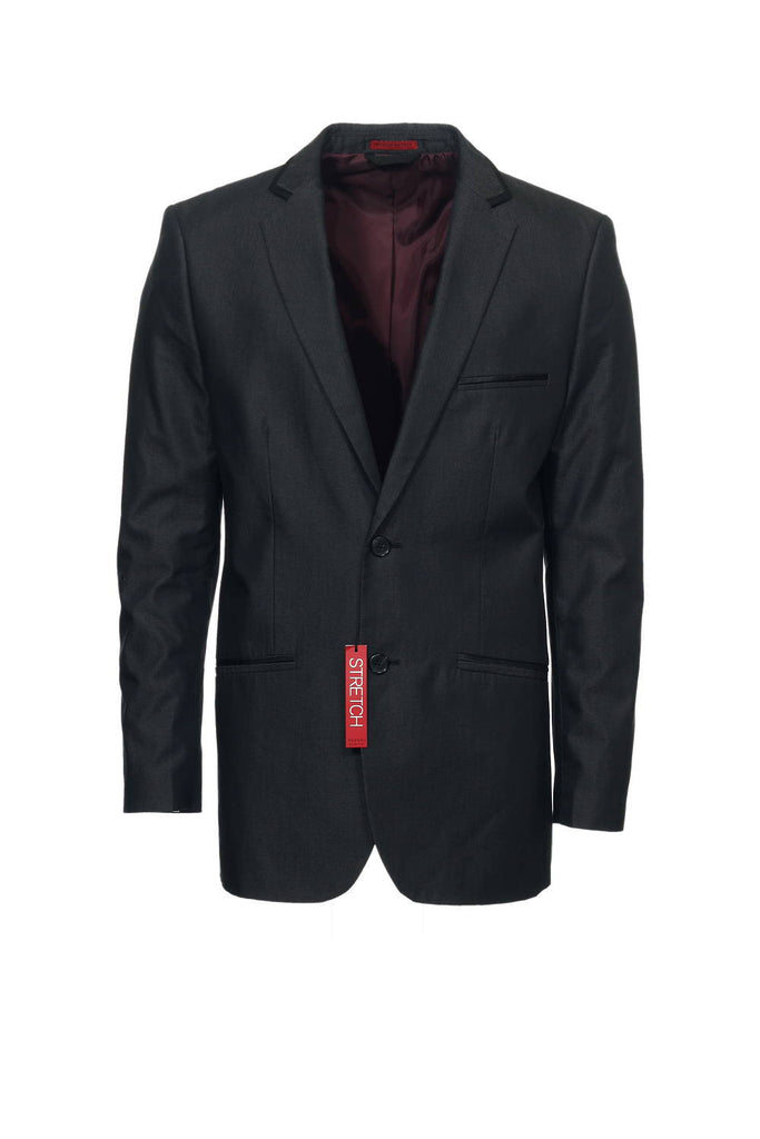Alfani Red Label Mens Black Dotted 2 Button Sport Coat